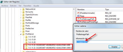 Reparar perfil dañado en Windows 7 height=183