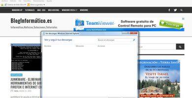 cambiar ruta de descargas en internet explorer