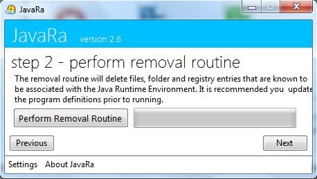 Limpiar Java Completamente