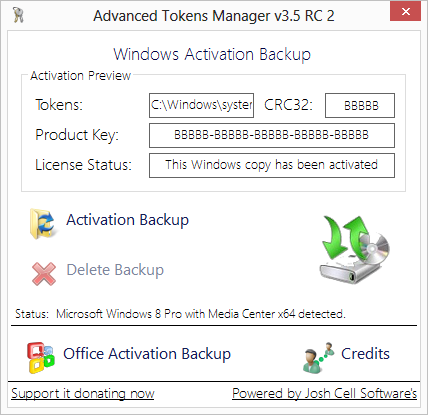 Ver o hacer backup de tu licencia de Windows 8