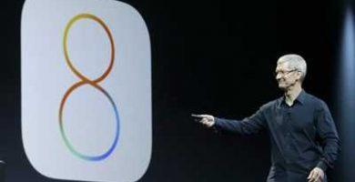 Apple retira la actualización a IOS8