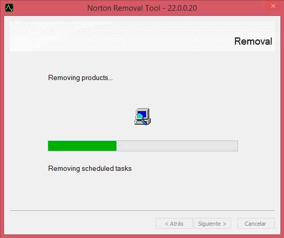 Desinstalando Norton Antivirus